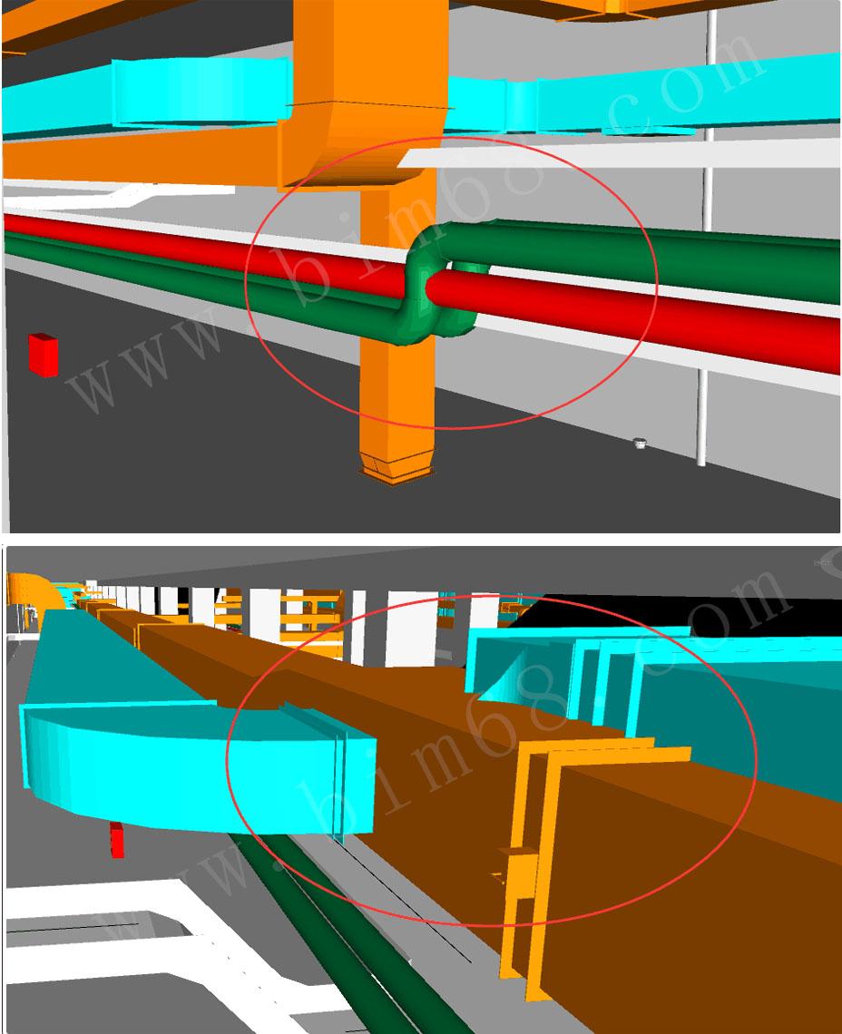 工程概况:后海站为11号线工程的第4座车站,为换乘站。由于地铁工程地下空间狭小,而所涉及到的机电管线品种繁多,有通风空调、建筑电气、智能建筑、给排水及消防、喷淋、通信、信号等众多专业的管线。管线功能种类多、施工的方法、安装的要求不尽相同。如果不统一布置和提前规划,其各专业管线的冲突将伴随施工的整个过程。 服务内容:施工图模型搭建、施工图模型碰撞检测及优化、图纸问题反馈汇总、管线综合优化及出图指导施工、驻场现场协调、工程量清单、机房安装工艺展示等。 1.